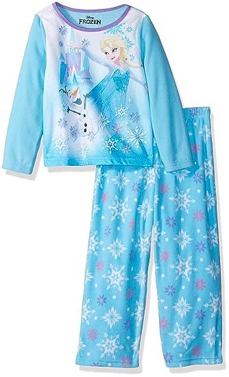 2f320ca56d Disney Frozen Elsa Conjunto de Pijama de Forro Polar de 2 Piezas para  niñas