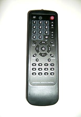 Mando a distancia universal 10 en 1, para DVD, CD, VHS, audio, música, TV y satélite, de Signalex: Amazon.es: Electrónica