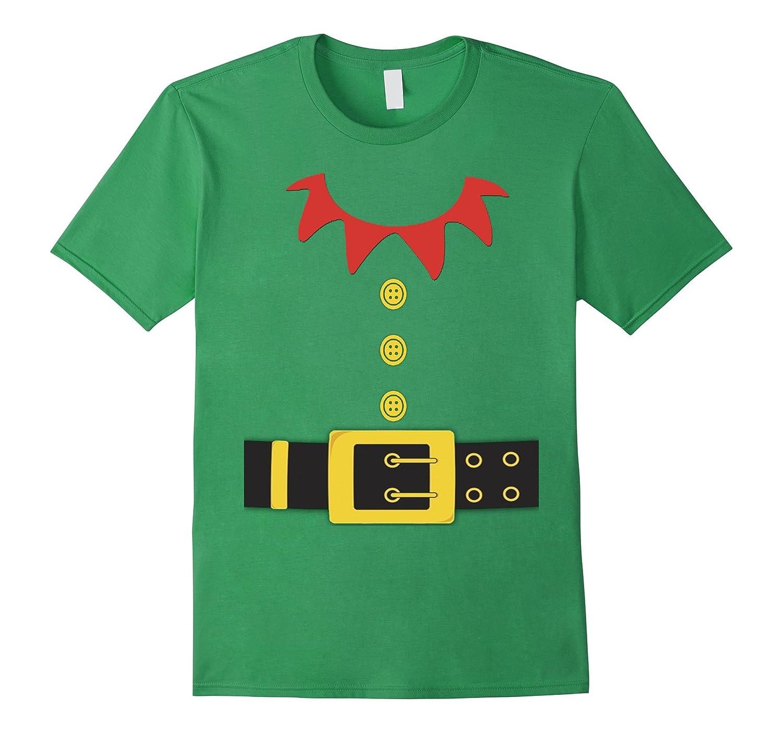 Santa Elf Costume Holiday Christmas Shirt for Kids & Adults-CL ...