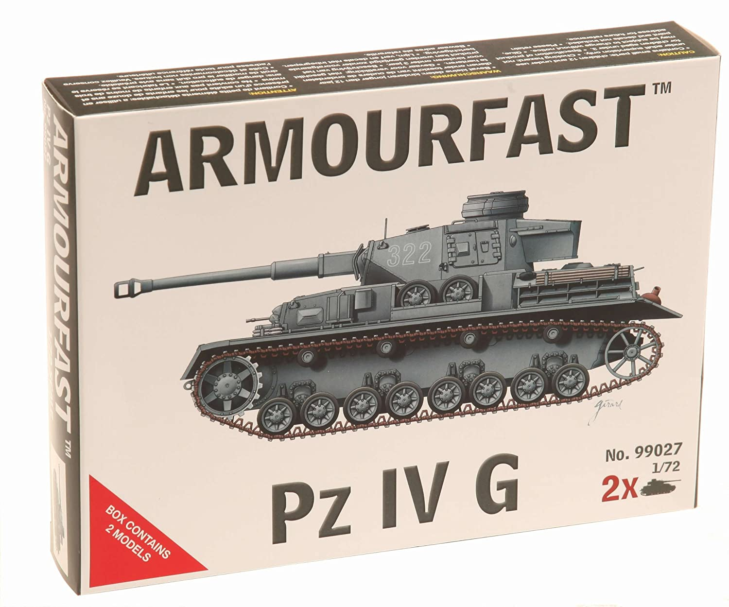 Armourfast tanks and military vehicles model kits in 1:72 scale 33 models