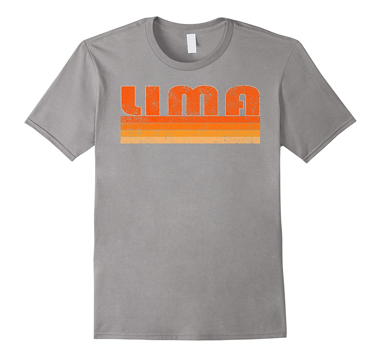 Vintage Retro Lima Peru T-Shirt-Art
