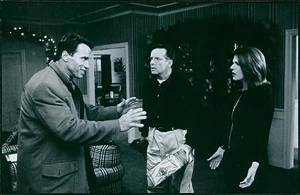 Vintage foto de una foto de la película de Jingle All The Way protagonizada por Arnold