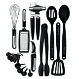 Amazon Price History for:KitchenAid 17-Piece Tools and Gadget Set, Black
