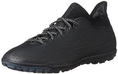 best sneakers 33e9e f7fef adidas Herren X 16.3 Tf Fußballschuhe Schwarz core Black Dark Grey, 41 1
