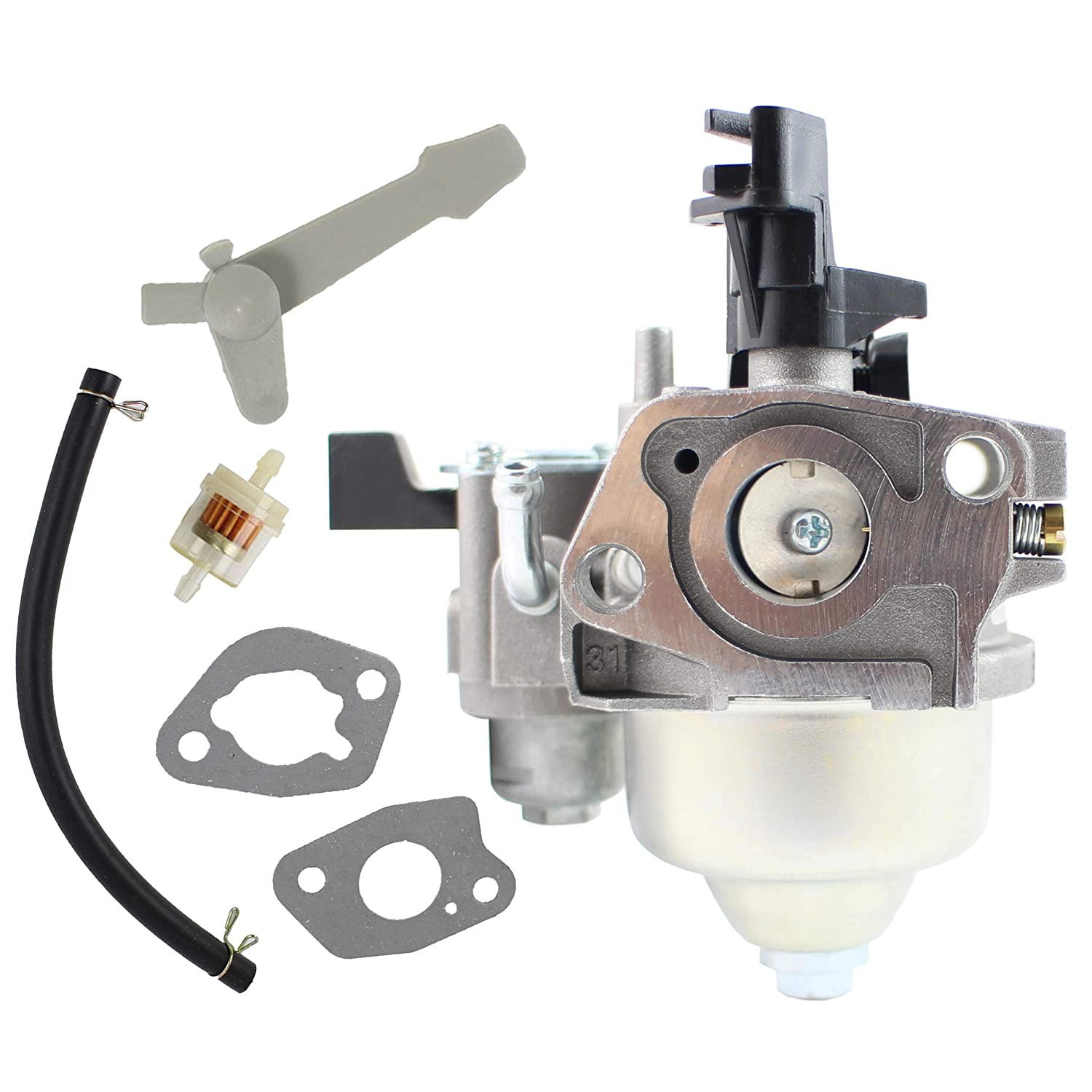 Pro Chaser Harbor Freight Predator 68121 69727 Carburetor for Aldi Kingcraft 2400PSI Titan TPW3000 ES TPW2200 Pressure Washer Powermate P-RTT-196MD Rear Tine Rotary Tiller Homelite HL252300 UT80522B