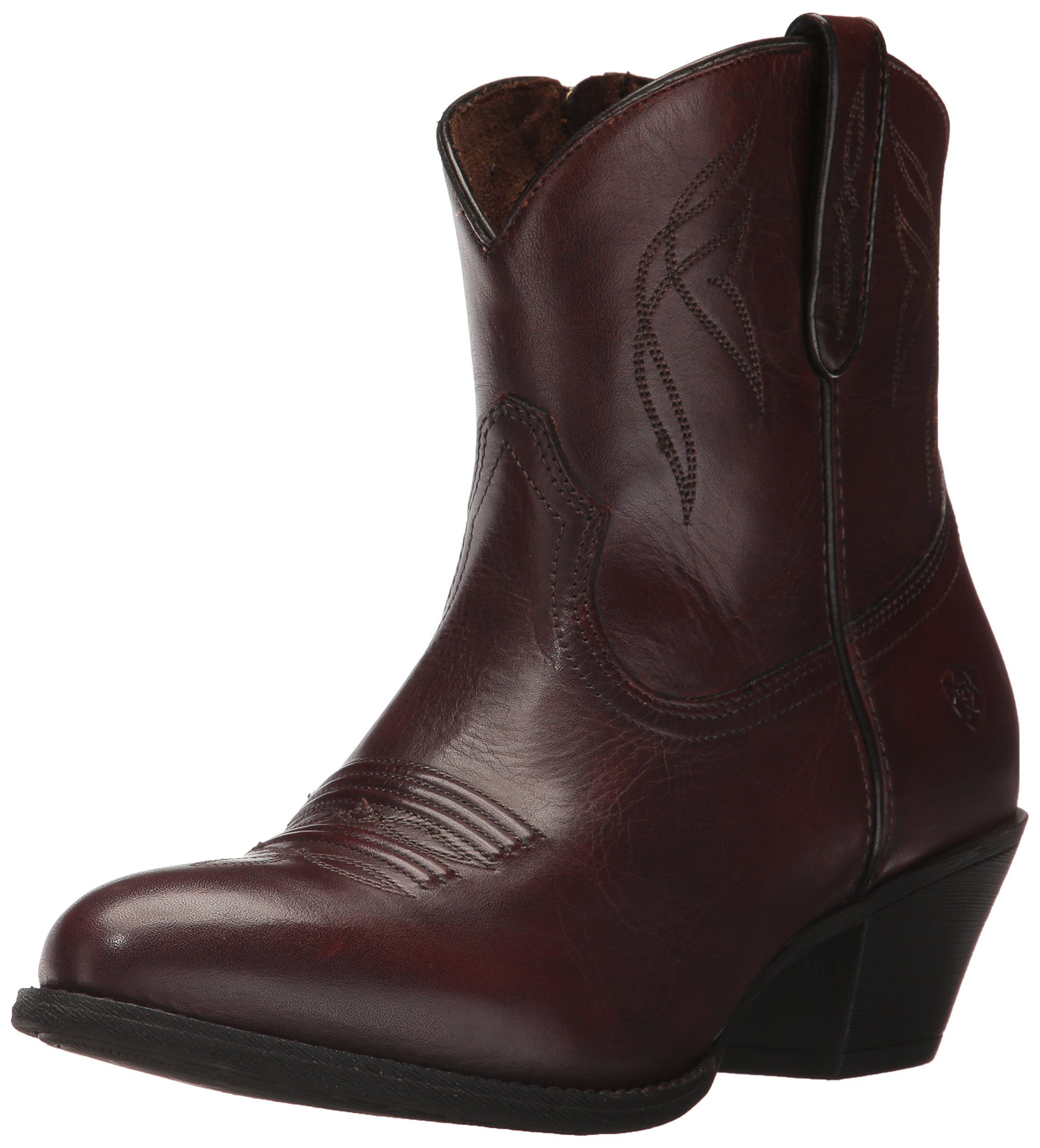 Ariat Women's Darlin Work Boot, Naturally Dark Brown, 8.5 B US