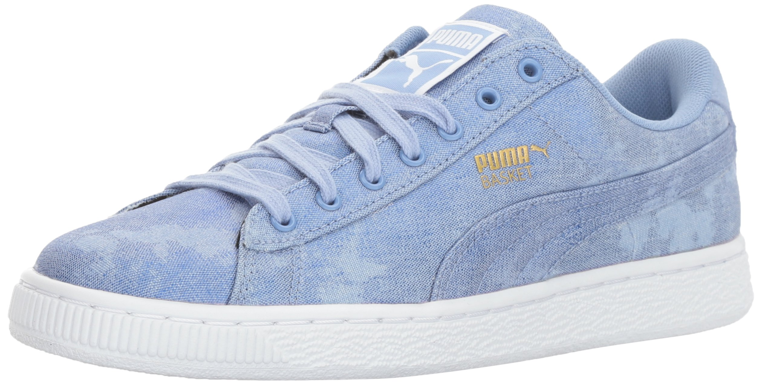 PUMA Women's Basket Denim WN's Field Hockey Shoe, Lavendar Lustre, 8.5 M US by PUMA