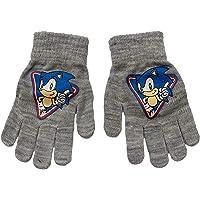 NADA HOME Guantes de invierno Sega Sonic The Hedgehog para niño 3407