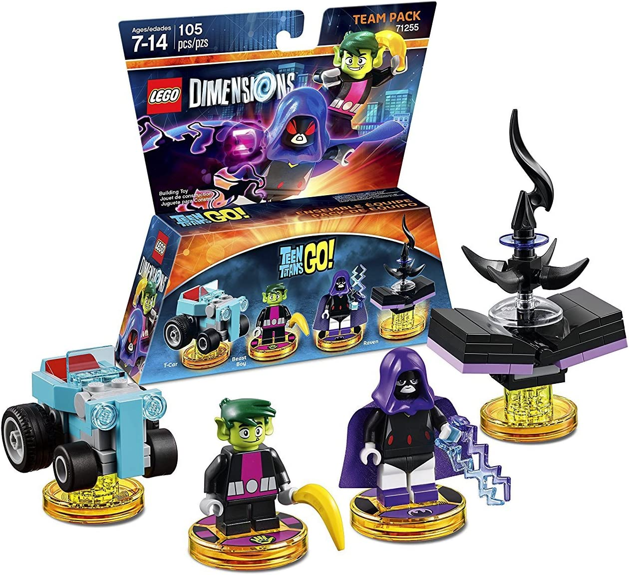 Warner - Teen Titans GO! [Team Pack]: Amazon.es: Videojuegos
