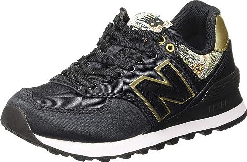 New Balance Damen 574v2 Sneaker, Schwarz