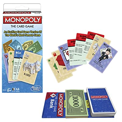 Winning Moves Games Monopoly The Card Game Monopoly & Rummy: Toys & Games