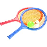 PowerTRC Badminton and Tennis Play Set with Easy to Grip Colorful Rackets