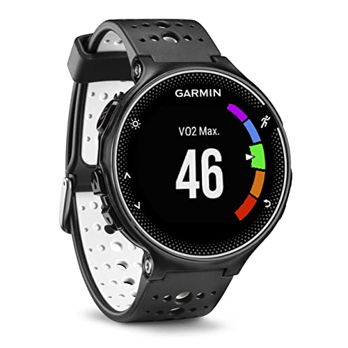 Garmin Forerunner 230 GPS Running Watch with Smart Features - Black and White