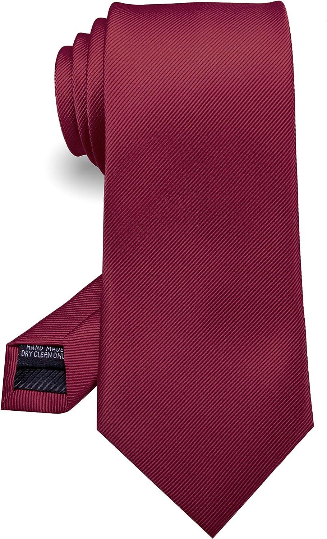 JEMYGINS Cravate Cousue Main pour Homme F/ête Travail