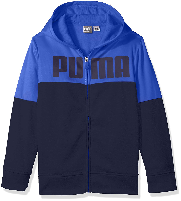 PUMA Boys Boys' Zip Front Hoodie