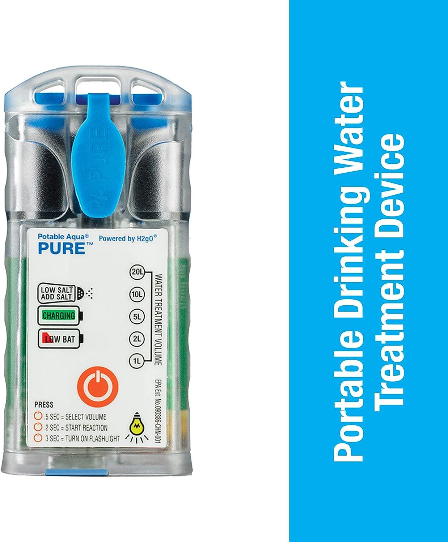 Purificador de agua potable Aqua Pure electrolíticos: Amazon.es: Deportes y aire libre