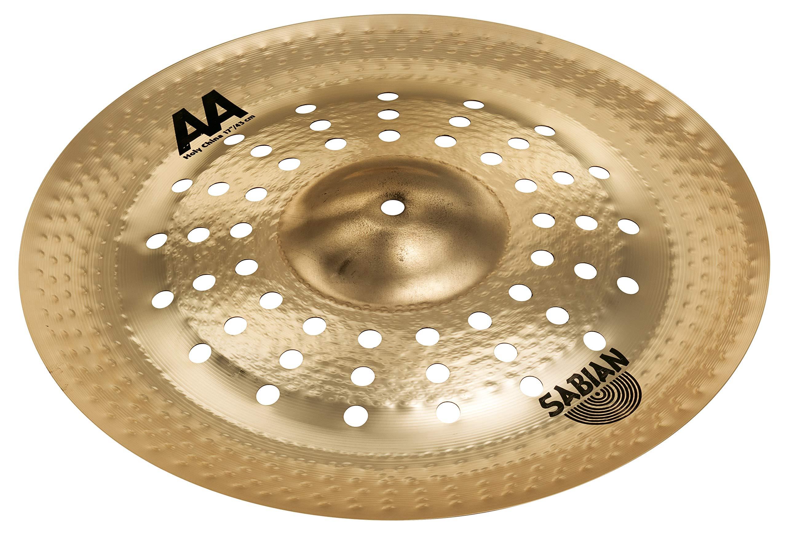 Sabian 21716CSB 17'' AA Holy China Cymbal Brilliant Finish