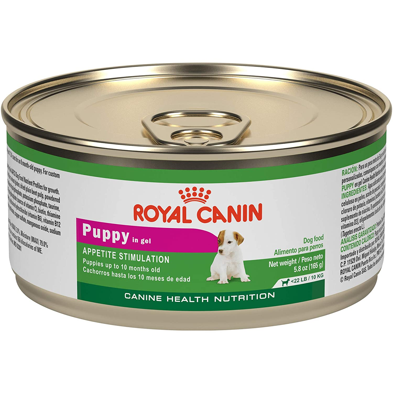 Royal Canin Health Nutrition Puppy In Gel Tray Dog Food, 3.5 oz, 24 Count: Pet Supplies: Amazon.com