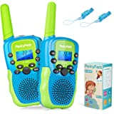 Birthday Gift Kids Toys for 3 4 5 6 7 8 9-12 Year Old Boys Girls Toddlers, Kids Walkie Talkies, Toys for Indoor Outdoor…