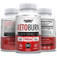 Keto Diet Pills - Supports Healthy Weight Loss, Boost in Energy, Mental Clarity & Focus - Extra Strength Keto Burn Formula - by Ancient Keto (3 Month Supply)