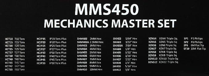 "Vim Products SHM408 8mm Hex 1//4/"" Square Drive"
