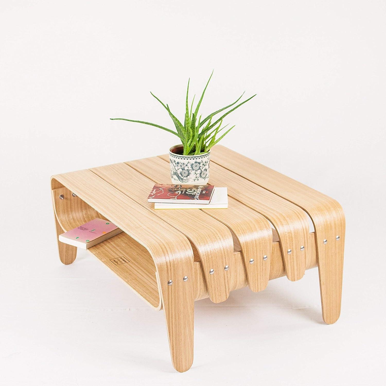 Amazoncom Mid Century Modern Living Room Coffee Table With Storage