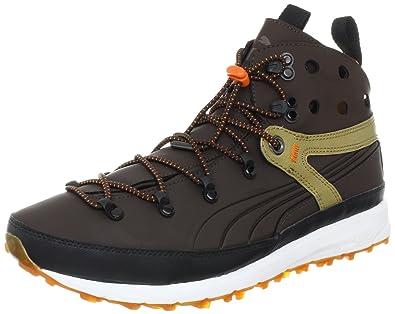 Puma Terai Faas Hiker Sneaker,Demitasse Brown/Jaffa Orange,8 D US