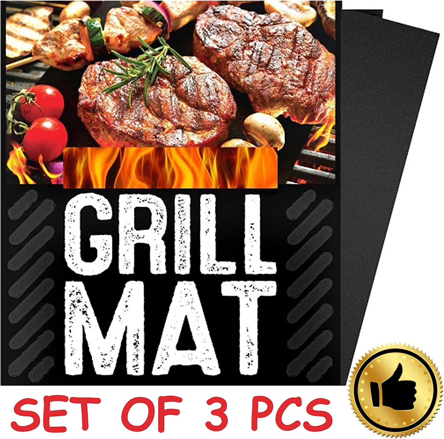 Grillaholics en Maille Filet pour Barbecue Grill Tapis – Lot