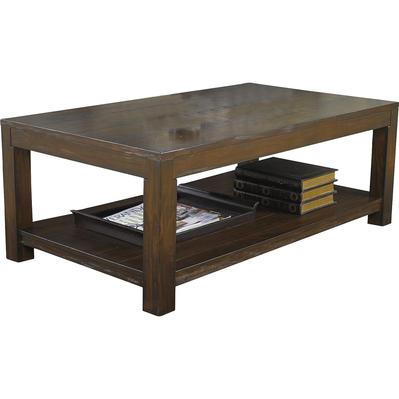 Amazoncom Cattle Creek Coffee Table Kitchen Dining - Silverado rectangular coffee table