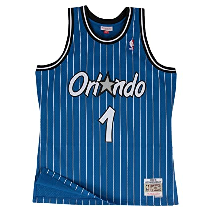 0a2c8a42f Mitchell   Ness Anfernee Hardaway Orlando Magic Swingman Jersey Blue (Small)