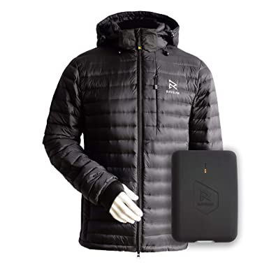 c13a59377f3 Ravean Men s Down Heated Jacket