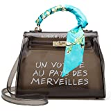 843459ae0315 Buy Poxas Top-handle PVC Womens Shoulder Bags Jelly Candy Color ...