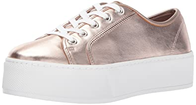 Steve Madden Women's Foxie Fashion Sneaker, Rose Gold, ...