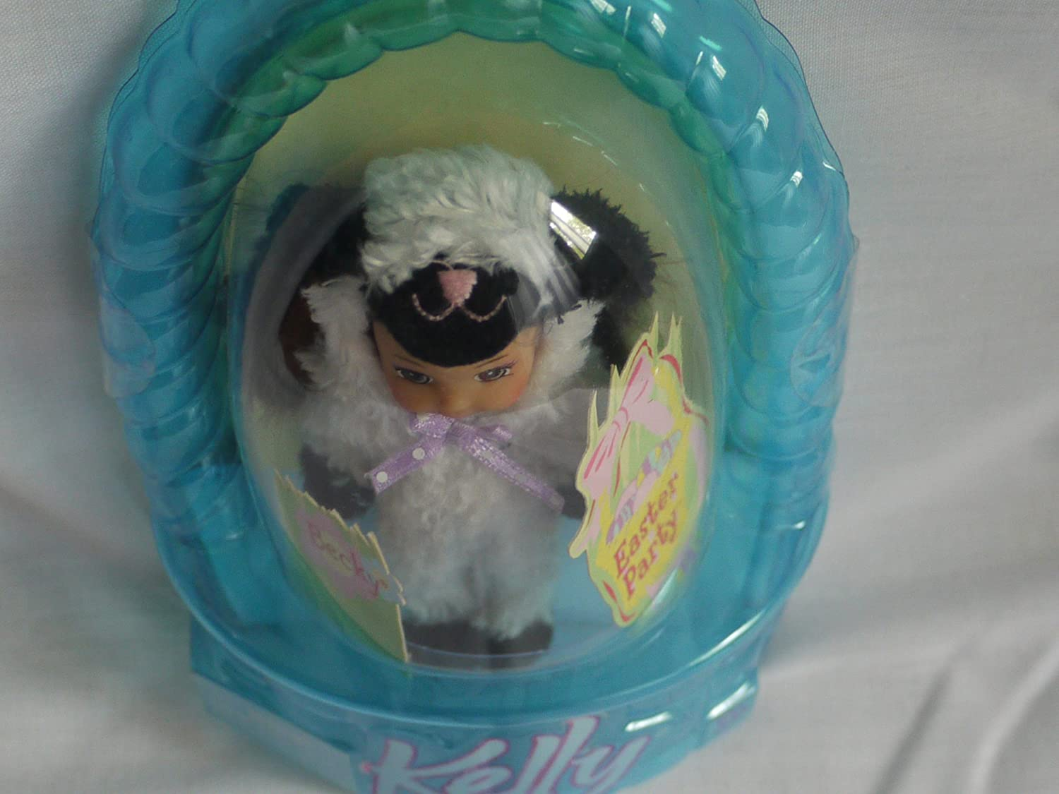 2004 TARGET EXCLUSIVE Easter Party Becky in Lavender Lamb Outfit Mattel H2507