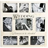 """New View Sentiment Stamp Collage Frame """"Wedding Memories"""""""