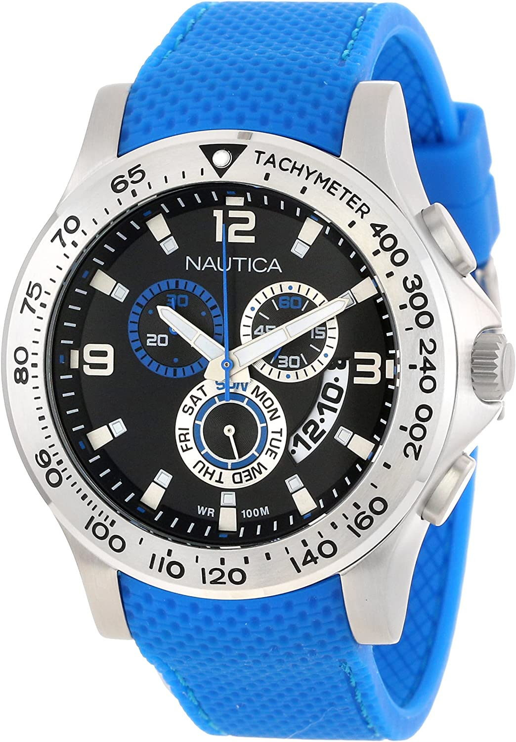 Nautica Men's N19604G NST 600 Chrono Carving Color Sport Classic Analog