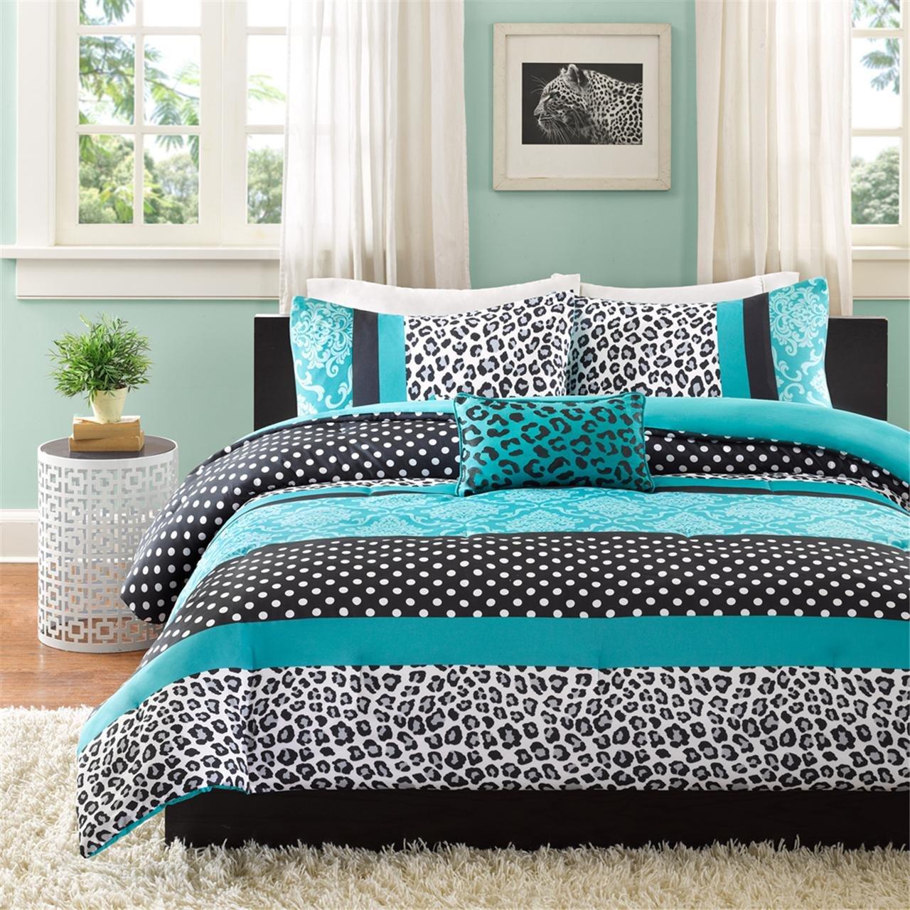 Mizone MZ10-225 Comforter Set, Twin/Twin XL, Teal