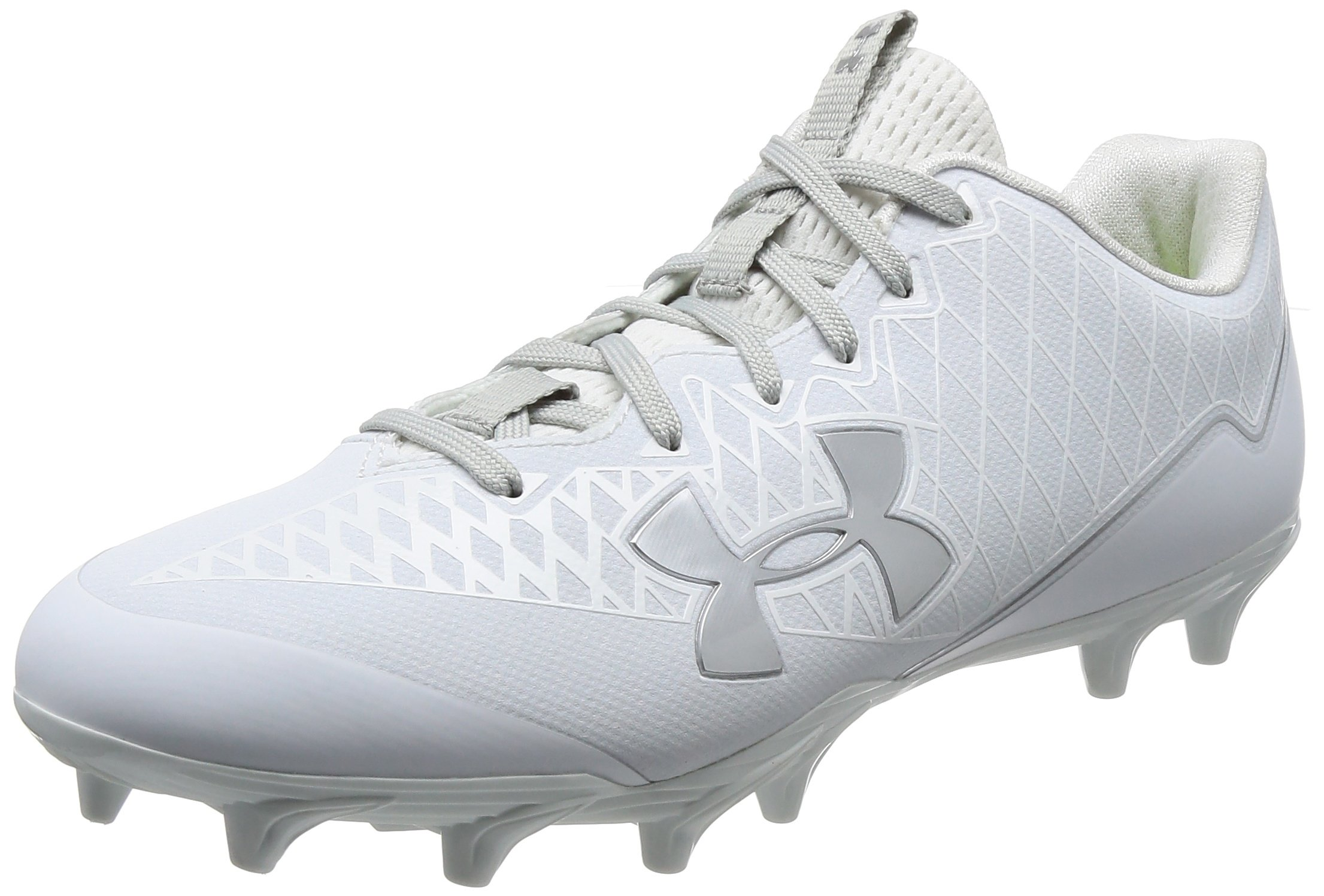 big sale 5d89a dceca Galleon - Under Armour Men s UA Nitro Select Low MC White Metallic Silver  11 D US