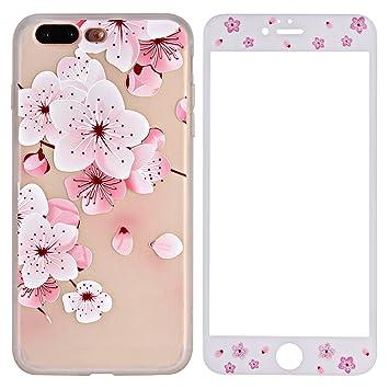 coque a fleur iphone 8 plus