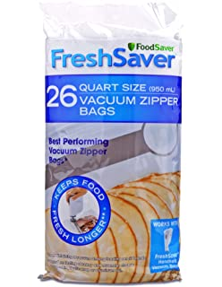 Amazon.com: FoodSaver FSFRBZ0316-000 1-Gallon Vacuum Zipper ...