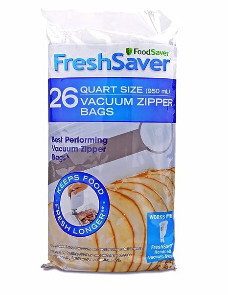 Amazon.com: 18 bolsas de cremallera al vacío de ...