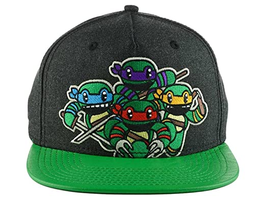 b31d8e6e83c Image Unavailable. Image not available for. Color  Teenage Mutant Ninja  Turtles Attack Snapback Hat