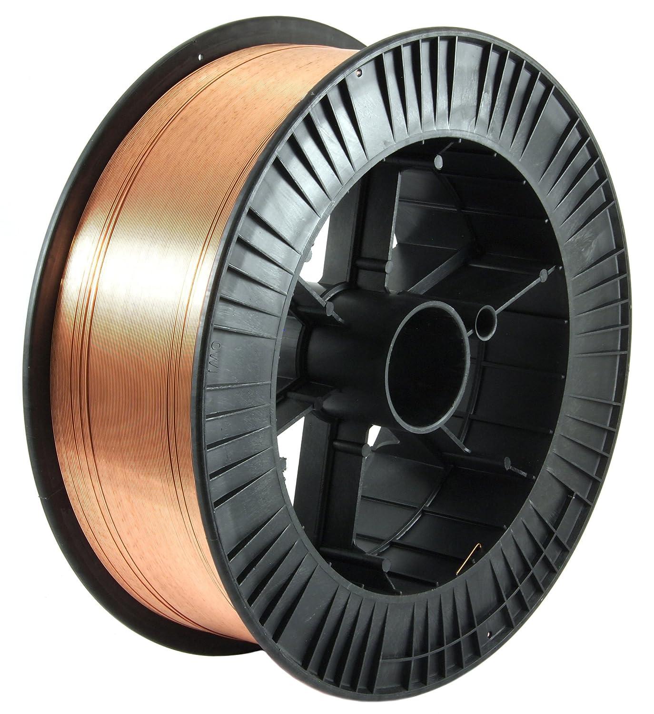 Forney 42287 Mig Wire, Mild Steel ER70S-6, .035-Diameter, 10-Pound ...