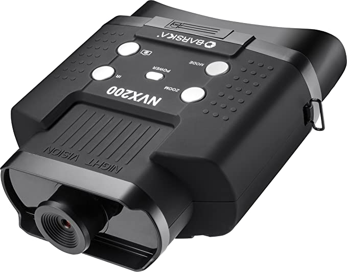 Barska Night Vision NVX200 Infrared Illuminator Digital Binoculars - Weather-Resistance