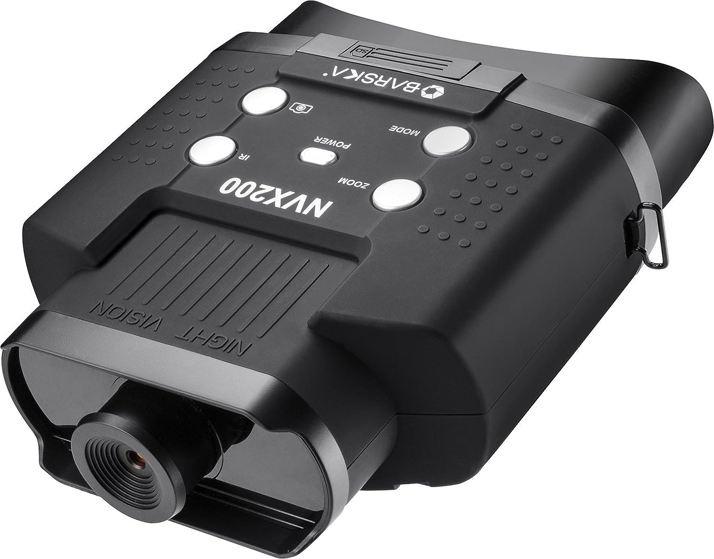 Barska NVX bq12996ナイトビジョンnvx150赤外線イルミネーターデジタル双眼鏡、ブラック B073XNPHCQ