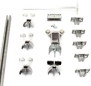 product image for KH Industries FTCT-FL-KIT50 C-Track 50' Festoon Kit for Flat Cable Trolley Car System