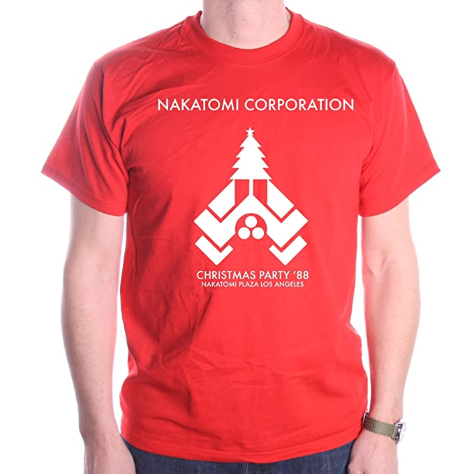 d4f8c8340 Amazon.com: Old Skool Hooligans Nakatomi Corporation Christmas Party T Shirt:  Clothing