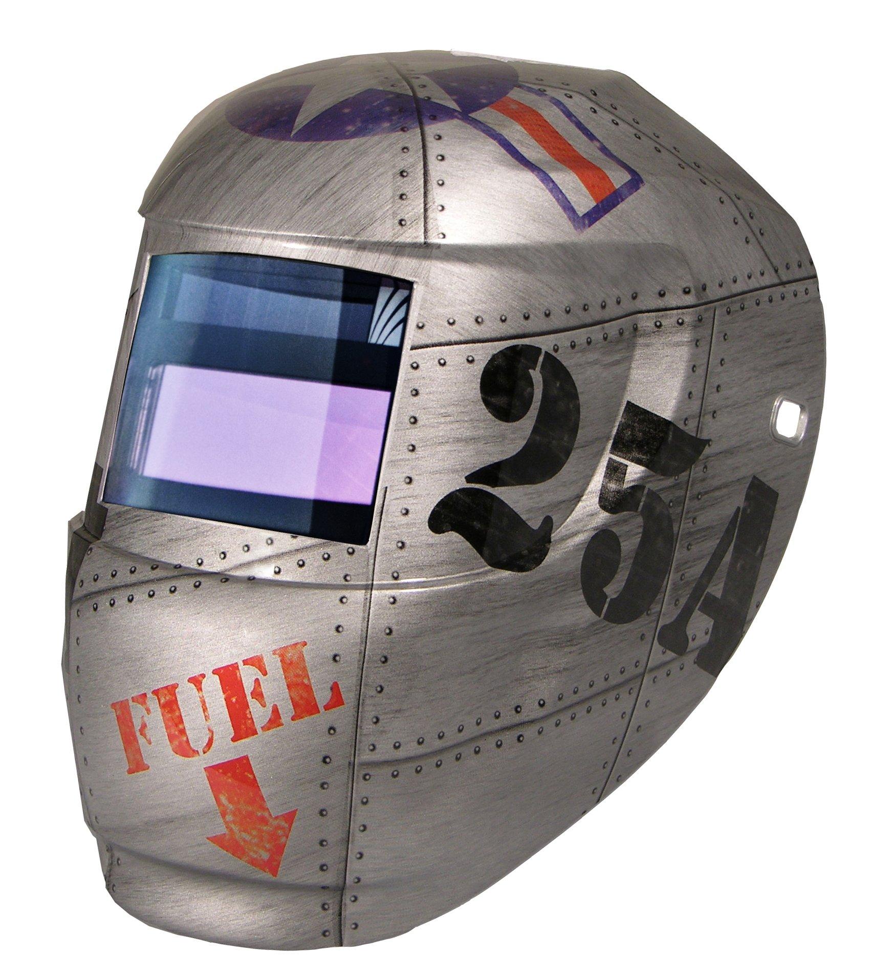 Carrera Welding Helmet with Auto Darkening 1000F Filter (Top Gun) by ArcOne (Image #1)