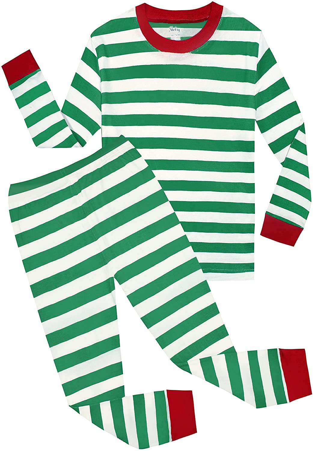 shelry Boys Christmas Pajamas Children Cotton Clothes Kids PJS Pants Set   Amazon.in  Clothing   Accessories 2238477e7