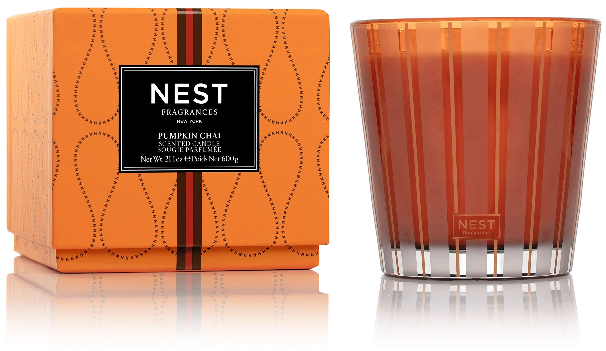 NEST Fragrances 3-Wick Candle- Pumpkin Chai, 21.2 oz